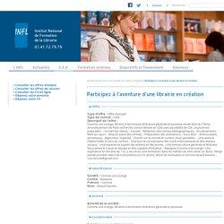 INFL : Institut National de Formation de la Librairie