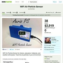 WIFI Air Particle Sensor by Chris Nafis