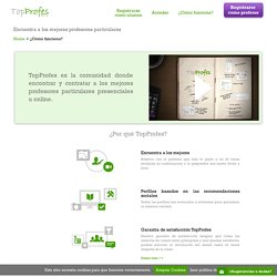 Clases Particulares - Profesores Particulares: TopProfes