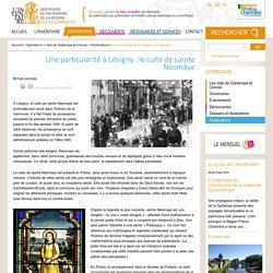 Une particularité à Lésigny : le culte de sainte Néomaye - Patrimoine et inventaire de Poitou-Charentes