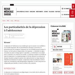 Les particularités de la dépression à l'adolescence