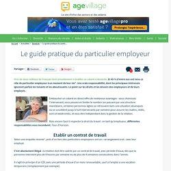 Le guide pratique du particulier employeur - 16/01/17
