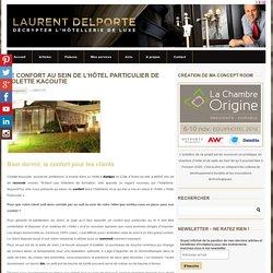 """Le confort au sein de l'""""Hôtel Particulier"""" de Colette KacoutieLaurent DELPORTE"""