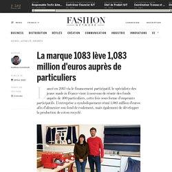 La marque 1083 lève 1,083 million d'euros auprès de particuliers - Actualité : business (#1191848)