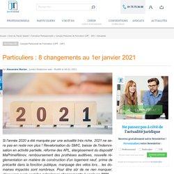 Salariés : 7 changements au 1er janvier 2019