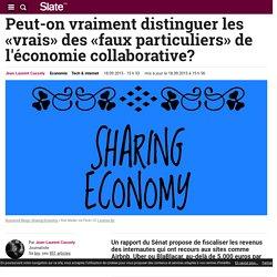 Peut-on vraiment distinguer les «vrais» des «faux particuliers» de l'économie collaborative?