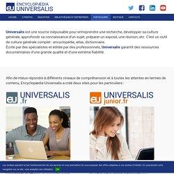 Universalis pour les particuliers - Encyclopædia Universalis