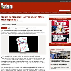 Cours particuliers: la France, un élève trop appliqué ?