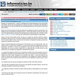Sophos lance un anti-virus Mac gratuit pour les particuliers - Press Releases