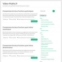 Video-Maths