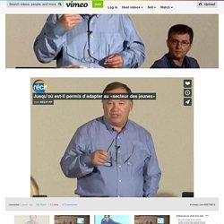 Élèves ayant des besoins particuliers en FP: jusqu'où peut-on adapter et quelles aides technologiques utiliser? on Vimeo
