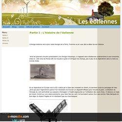 Partie I : L'histoire de l'éolienne