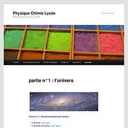 Physique Chimie Lycée