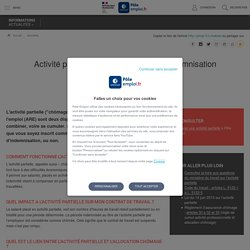 COVID-19, activité partielle et allocation chômage Les réponses à vos questions