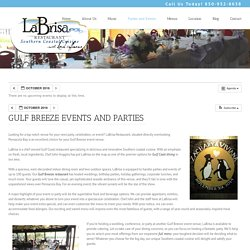 Seafood Restaurants Gulf Breeze Fl Is The Best place for Parties and Events