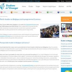 Partir avec Erasmus en Belgique