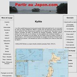 Partir au Japon : Kyôto
