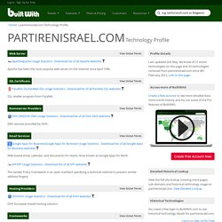 partirenisrael.com Technology Profile
