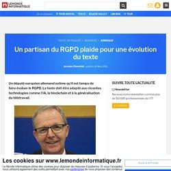 Un partisan du RGPD plaide pour une évolution du texte