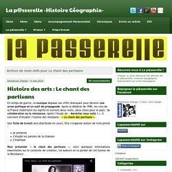 Le chant des partisans » La p@sserelle -Histoire Géographie-
