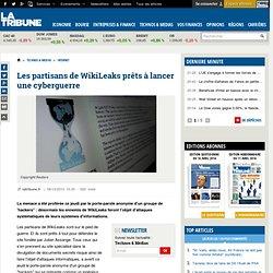 WikiLeaks : des hackers partisans du site fondé par Julian Assange prêts à lancer une cyberguerre