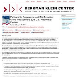 Partisanship, Propaganda, and Disinformation: Online Media and the 2016 U.S. Presidential Election