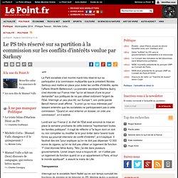 AFFAIRE WOERTH-BETTENCOURT : Le PS très réservé sur sa partition à la commission sur les conflits d'intérêts voulue par Sarkozy, actualité Politique : Le Point