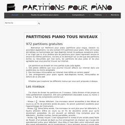 Partitions gratuites pour piano