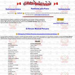 Partituras de M sica Peruana