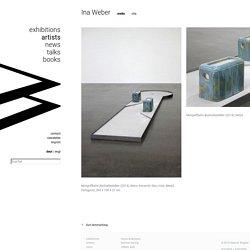 Ina Weber - Ina Weber - Artist - Wagner + Partner Gallery for contemporary Art Berlin