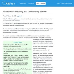 Partner with a leading BIM Consultancy service