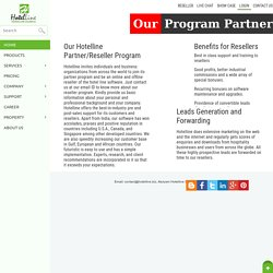 Our Partner Program Policy - Hotelline.biz