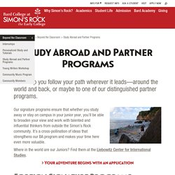 Study Abroad and Partner Programs