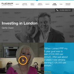 PPP Partner and HMO property investor Gertie Owen