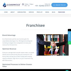 Partner with Cleanomatics