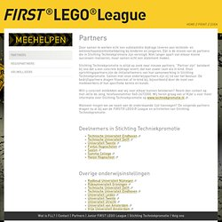 Partners - FIRST® LEGO® League