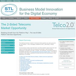STL Partners : Business model innovation in the Telecoms-Media-Technology sector