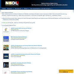 NSDL Pathways - The National Science Digital Library
