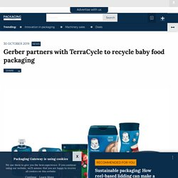 Gerber partners with TerraCycle to recycle baby food packaging