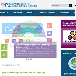 The Partnership for 21st Century Skills - Home