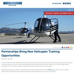 Become commercial helicopter pilot in USA