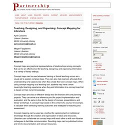 Partnership: the Canadian Journal of Library and Information Practice and Research