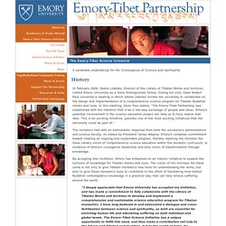 Tibet Partnership | Emory-Tibet Science Initiative