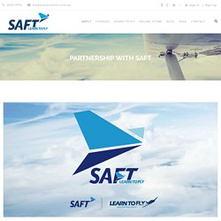 Partnership With SAFT - Learn To Fly Hong Kong