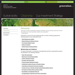 Generation Investment Management LLP