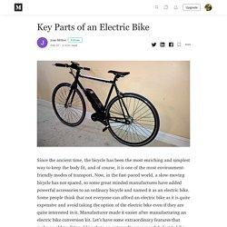Key Parts of an Electric Bike - Jose Milton - Medium