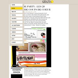 Blog mode Party : les 20 blogs mode coups de coeur / Radars / Mo