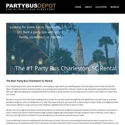 Party Bus Charleston, SC Service