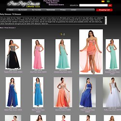 Party dresses, cocktail party dresses, long evening gowns
