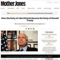 How the Party of John McCain Became the Party of Donald Trump